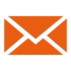 E-Mail Icon Button Vektor