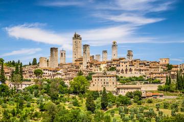 Medieval town of San Gimignano, Tuscany, Italy Fototapete