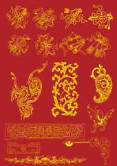 Chinese Vector Elements