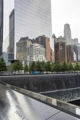 New York - 9-11 Memorial and Freedom Tower