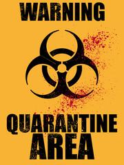 biohazard virus ebola warnung