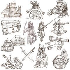 pirates - white set no.3