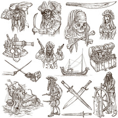 pirates - white set no.4
