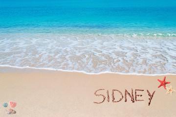 sidney writing