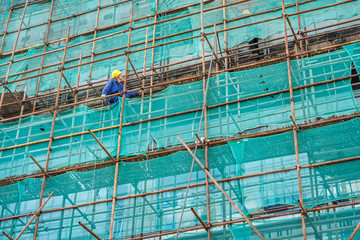 Laborers and building construction