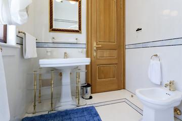 Elegant luxury bathroom interior