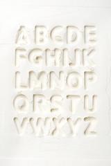 Mehl Alphabet
