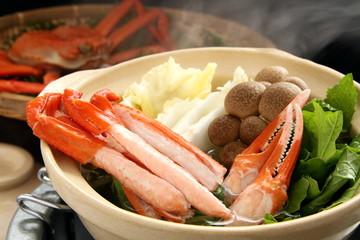 蟹鍋 かにすき 鍋