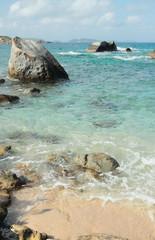 In Stoney bay, Virgin Gorda, Tortola