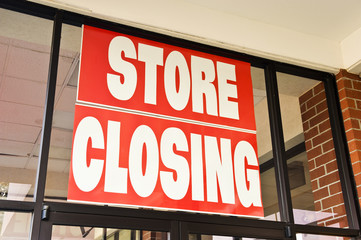 Store Closing Banner