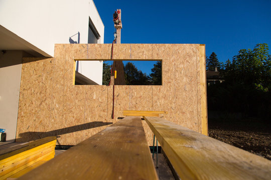 Construction ossature bois