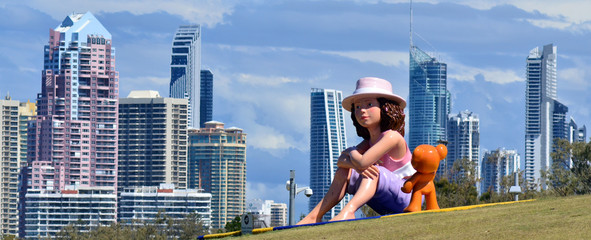 Southport Broadwater Parklands Gold Coast Queensland Australia