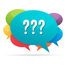 Questions Talk Bubble