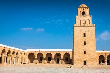 The Great Mosque of Kairouan (Great Mosque of Sidi-Uqba), Tunisi