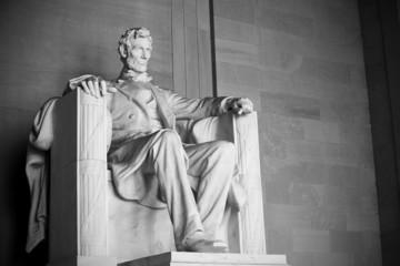 Abraham Lincoln statue, Lincoln memorial in Washington