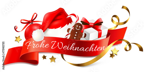 weihnachtslogo frohe weihnachten stockfotos und. Black Bedroom Furniture Sets. Home Design Ideas