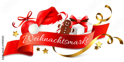 weihnachtsmarkt logo stockfotos und lizenzfreie. Black Bedroom Furniture Sets. Home Design Ideas