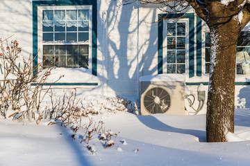 Heat Pump in winter