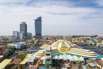 central phnom penh in cambodia