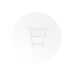 """Vector, paper label """"the cart for purchases""""."""