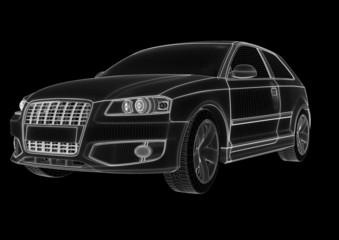 car lines rendering