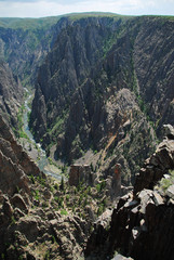 Wall Mural - Black canyon of the Gunnison National Park, North Rim, CO, USA