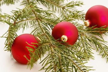 bauble fir xmas christmas