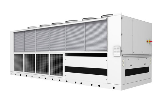 Industrial free-cooling chiller