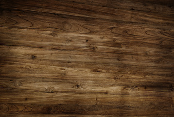 Brown Textured Varnished Wooden Floor
