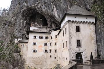 historic white castle in Slovenia