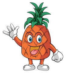 Smile pineapple