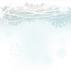 christmas background - snowflake