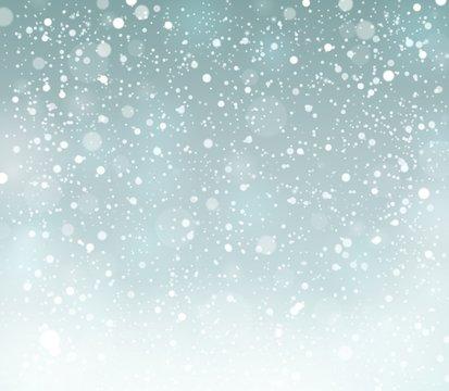 Snow theme background 6
