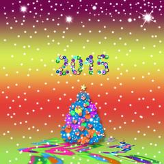 Christmas greeting card 2015