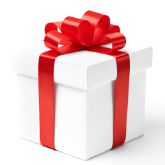 gift box, with ribbon like a present