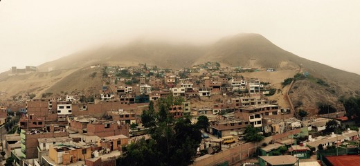 foggy day in limas gettoh