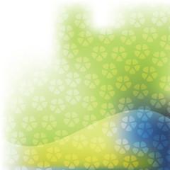 Shiny Floral Pattern Background
