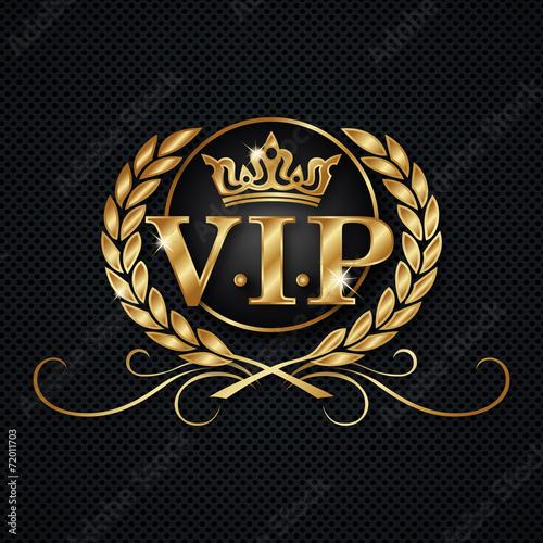 VIP Logo Fichier Vectoriel Libre De Droits Sur La Banque
