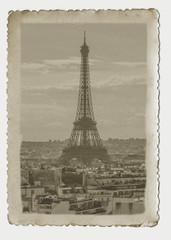 Vintage photo Paris