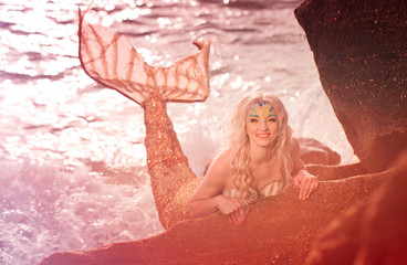 Mermaid portrait