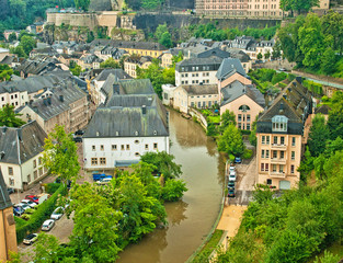 Luxembourg City Panorama