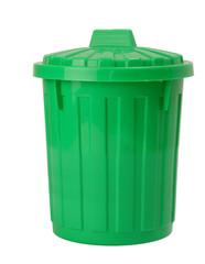 grüne Bio Mülltonne
