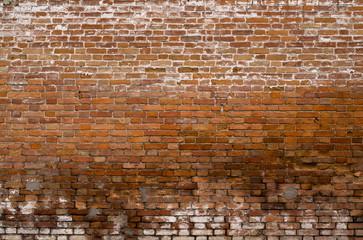 wet brick wall