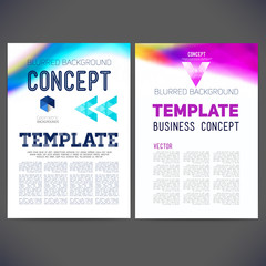 Abstract vector template design, brochure, Web sites
