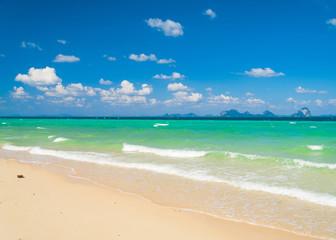 Shore Landscape Heavenly Blue
