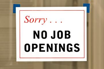 No Job Openings