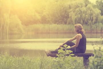 Woman feeling so alone