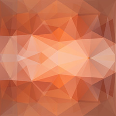 Abstract background triangles