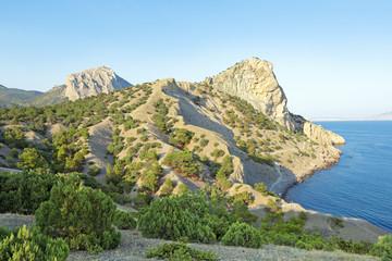 Blue (predatory) Bay, republic Crimea