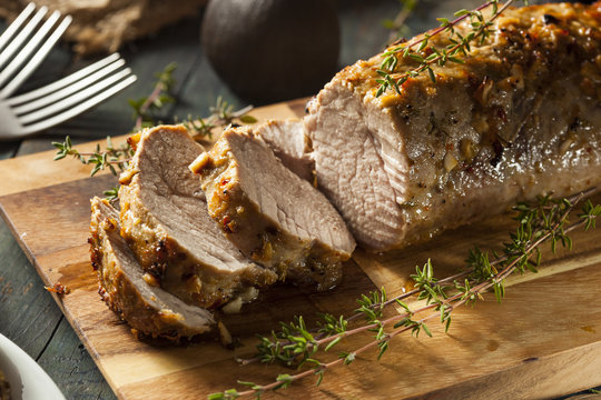 Homemade Hot Pork Tenderloin